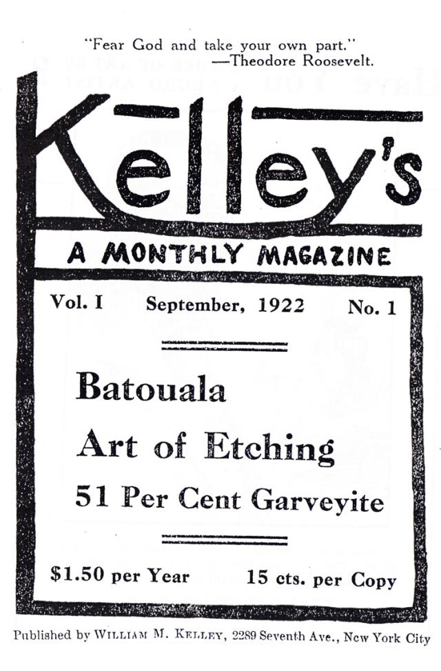 Original Kelley's Magazine