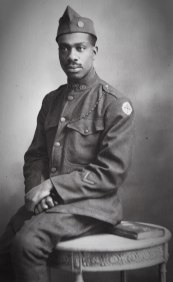 As a private during the Great War, 1919